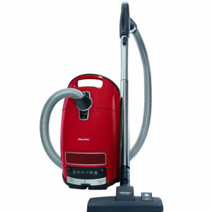 Miele Complete C3 Homecare canister vacuum at Lowery Sewing and Vacuum