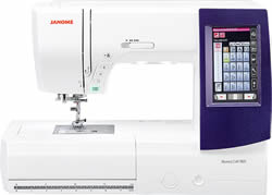 Janome 9850 at Lowery Sewing and Vacuum